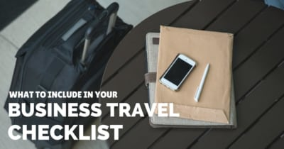 What to include in your business travel checklist