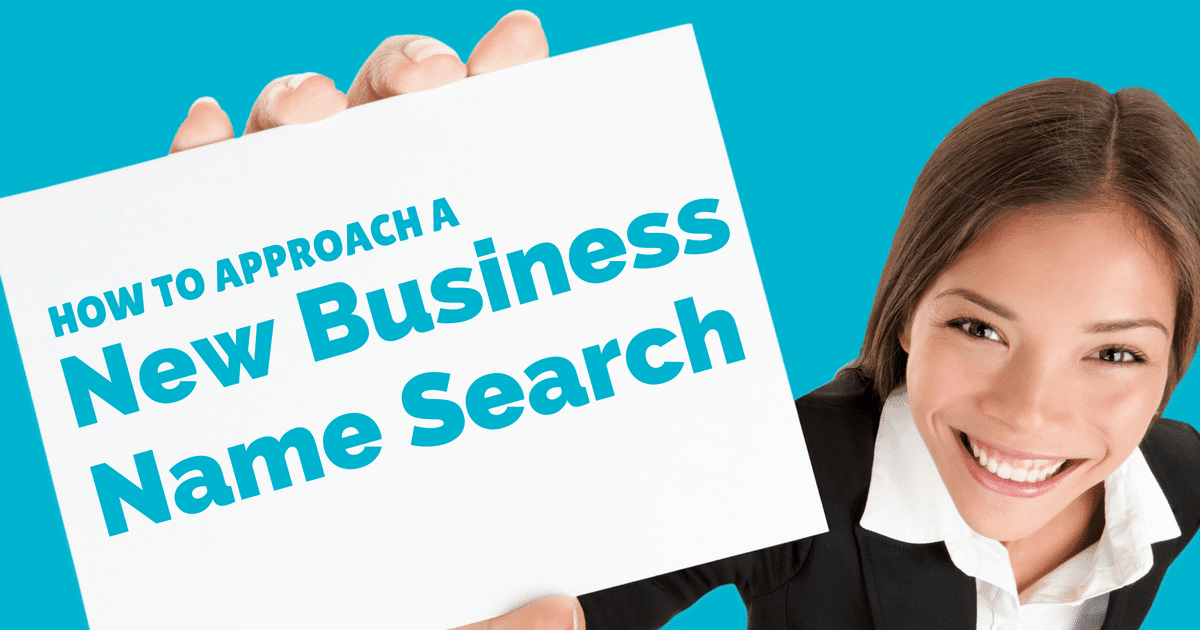How to approach a new business name search