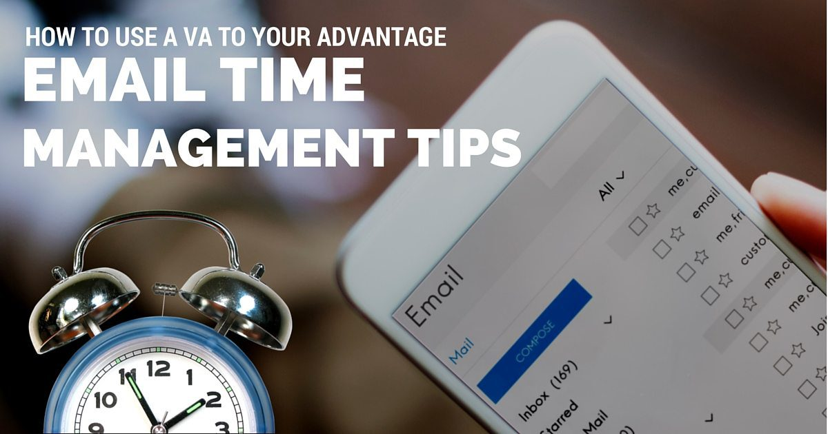Email time management tips: How to use a virtual assistant to your advantage