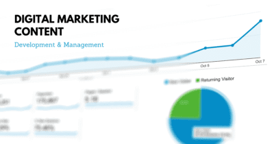 Digital marketing content development and management