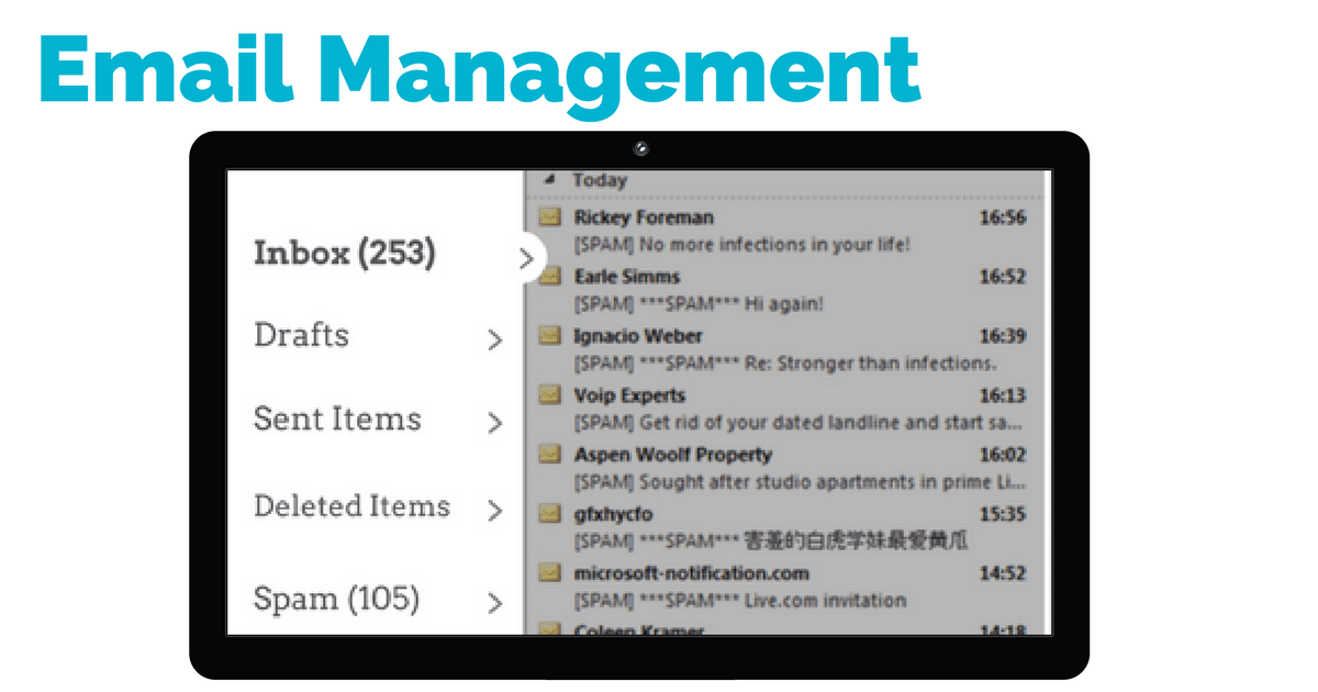 virtual assistant email management | © Oneresource
